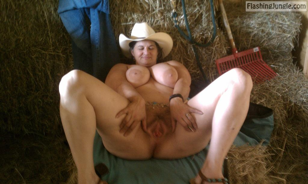 Terry Webb Naked Cowgirl Rodeo bitch