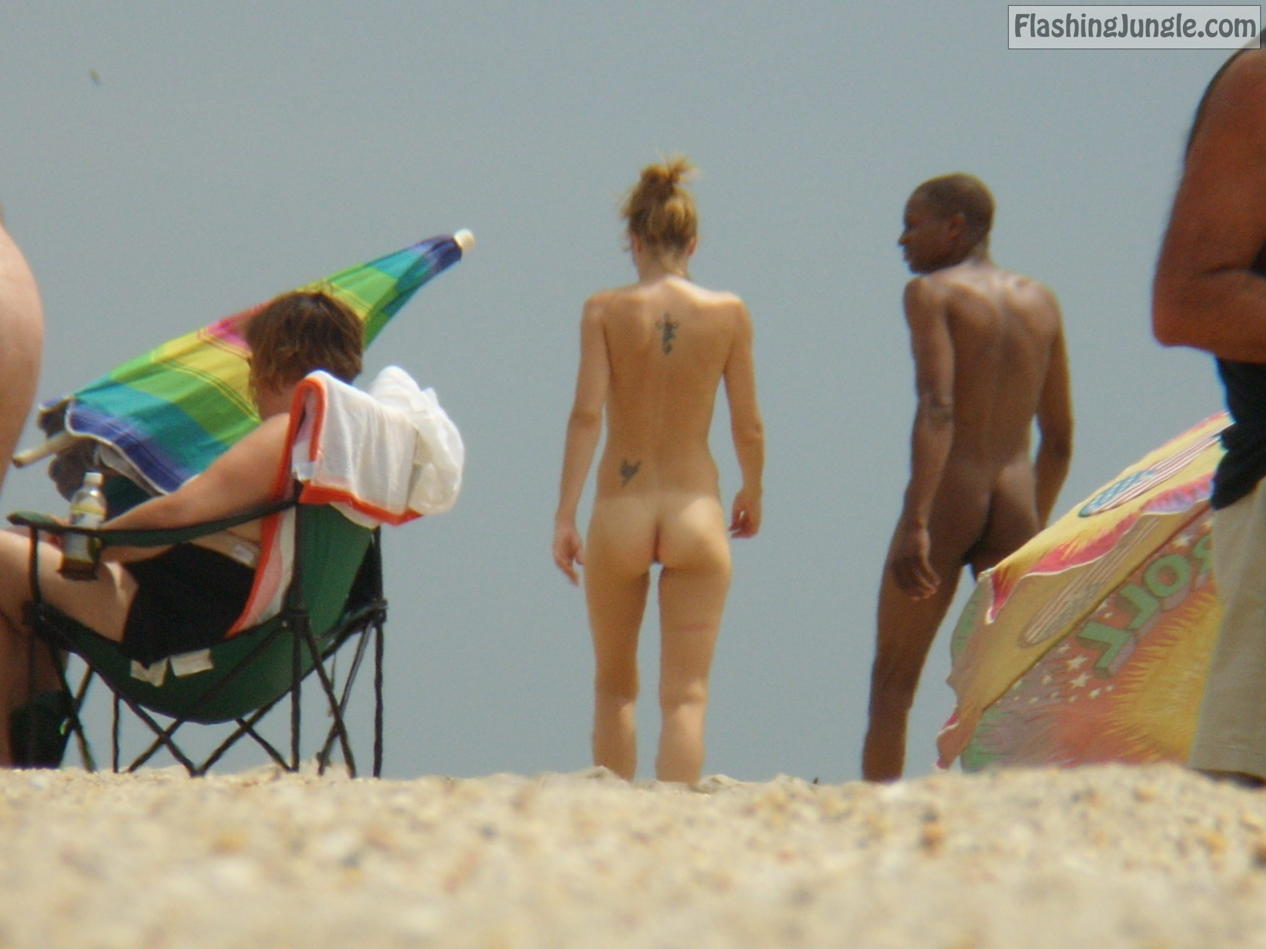Slim beach bitch (3) voyeur real nudity nude beach
