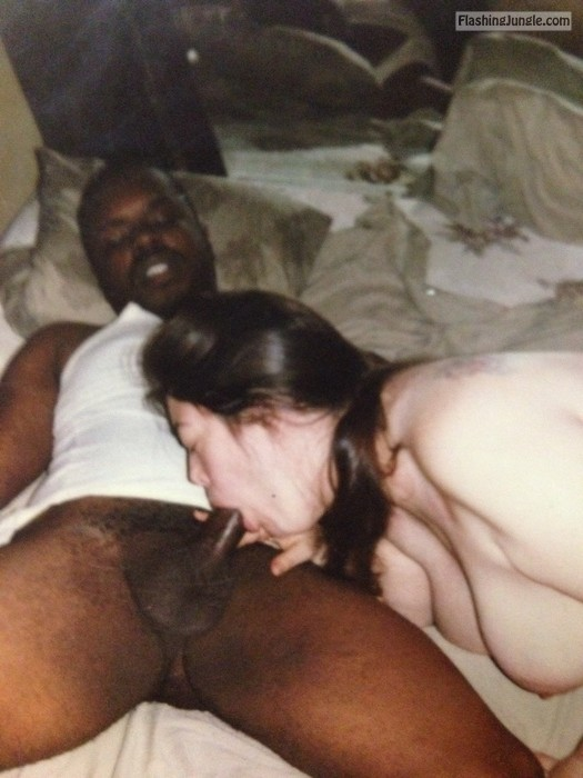 White Wife Christy Sucking Black Cock