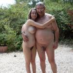 Suzie Naked Outside With Her Big Daddy Cock