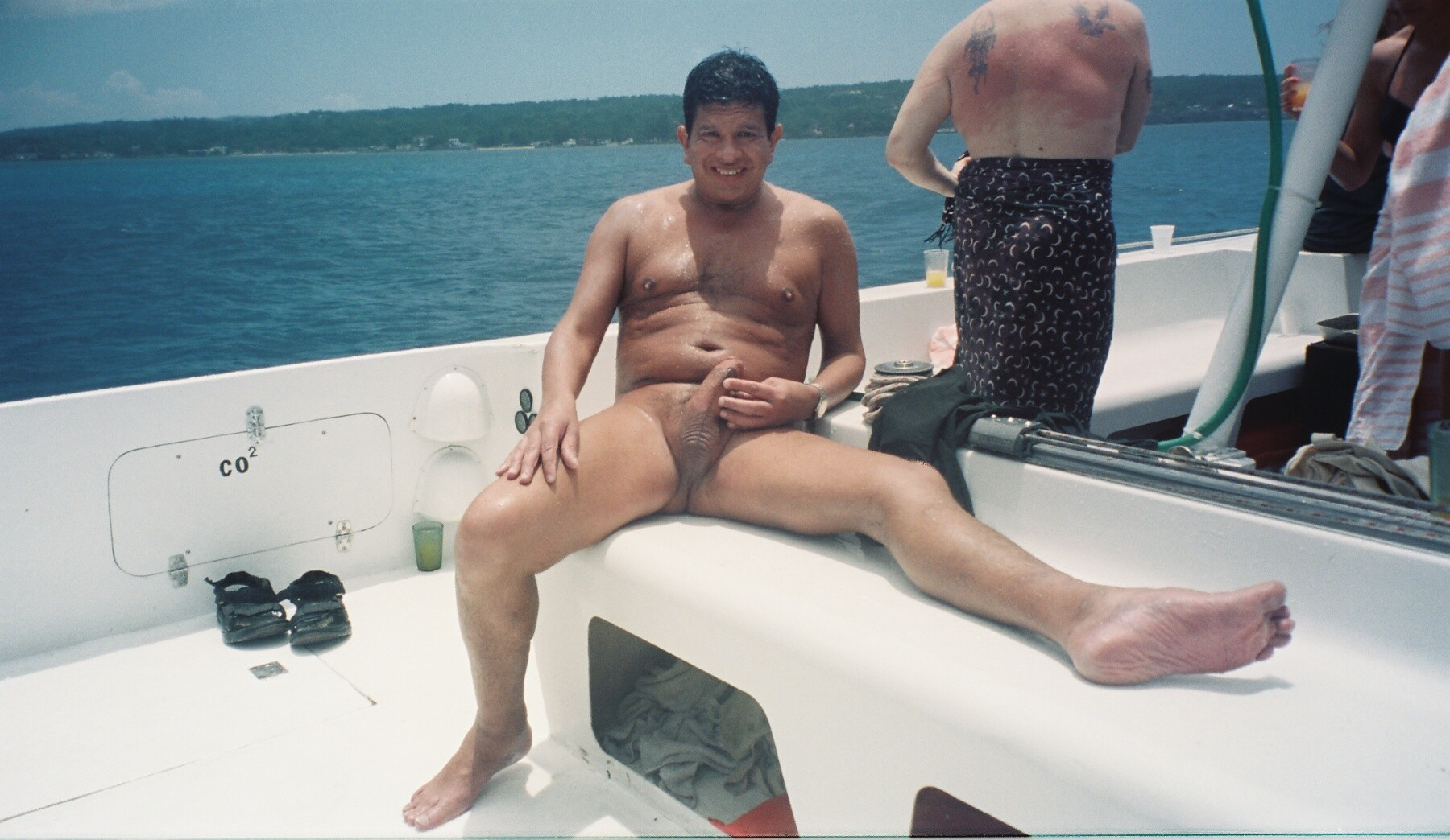 Fun on party boat real nudity dick flash