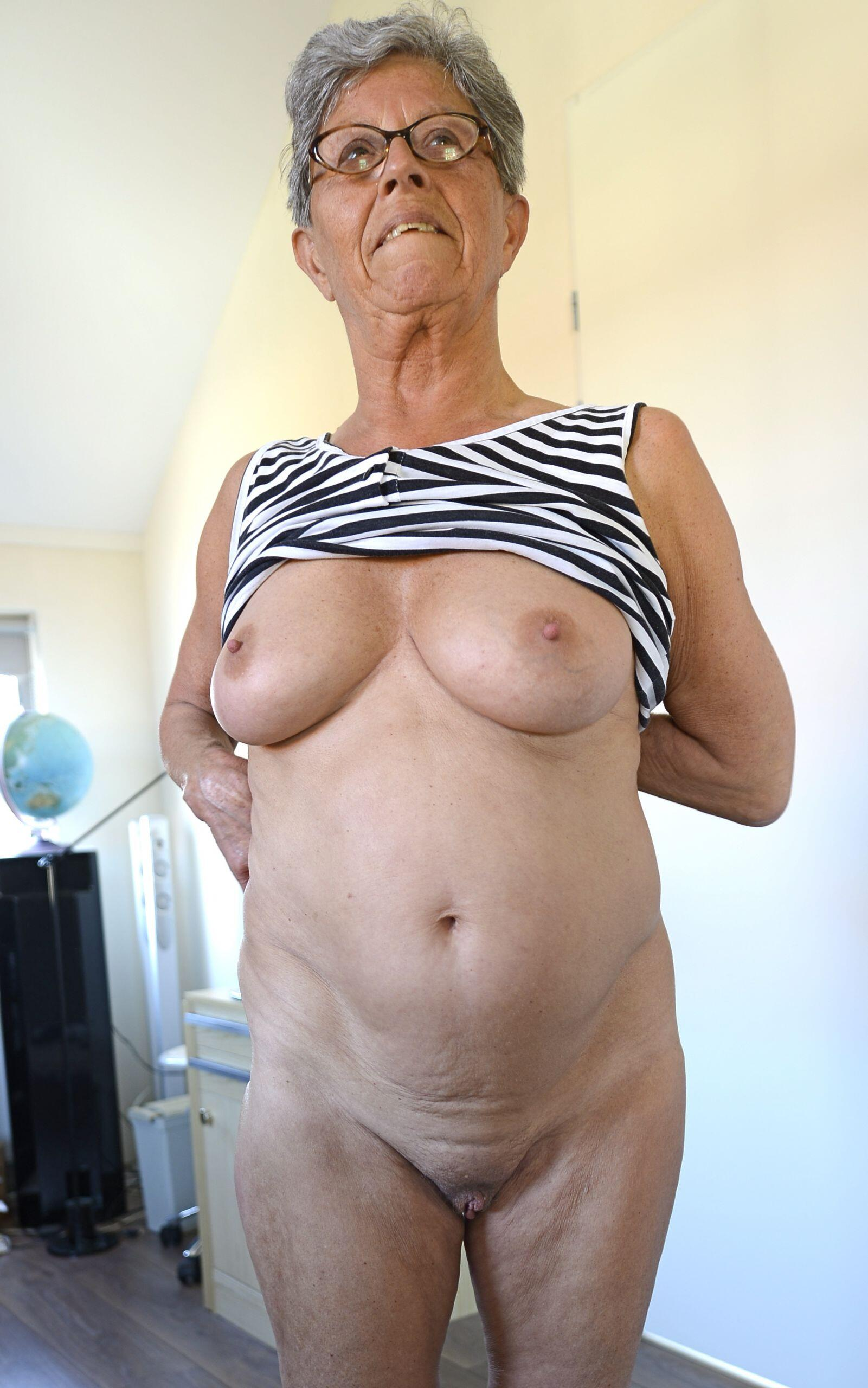 Old slut wants some action